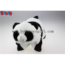Plush Stuffed Pillow Cute Panda Shape Cartoon Travel Pillow Cushion