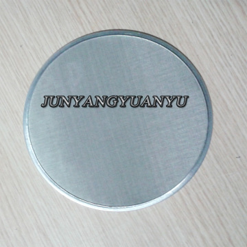 Kinds of Metal Mesh Filter Discs