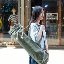 yugland Carrier Yoga Mat Bag Wholesale High Quality yoga mat carrier bag canvas waterproof yoga mat with bag