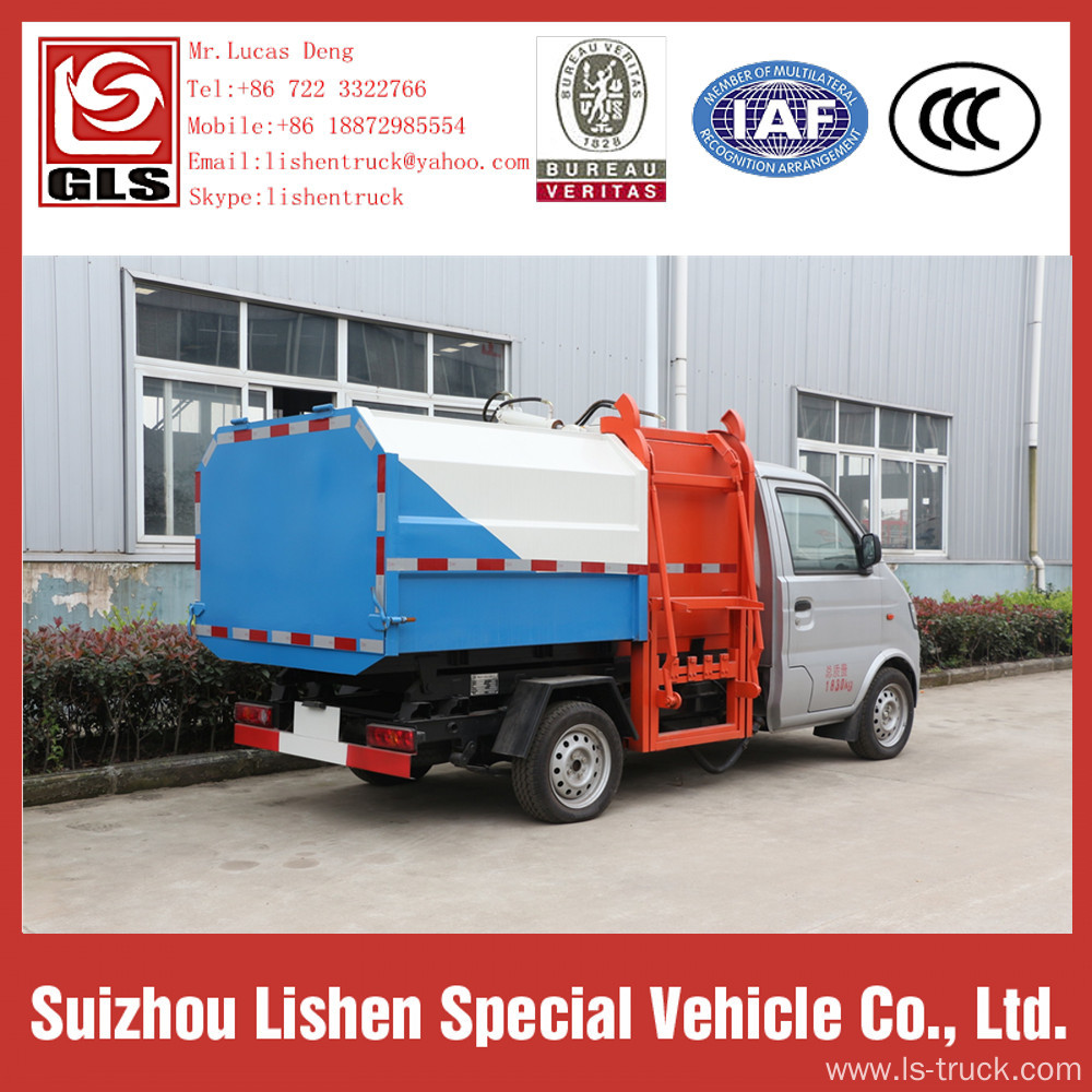Crane Bucket Garbage Truck Small for Sale
