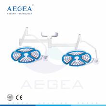 AG-LT015 72 pcs LED bulbs in each head operating room surgical lamp ceiling ot light price