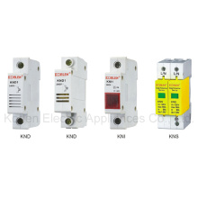Disjoncteur indicateur de rail DIN Buzzer