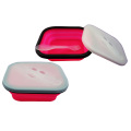 silicone foldable bowl lunchbox