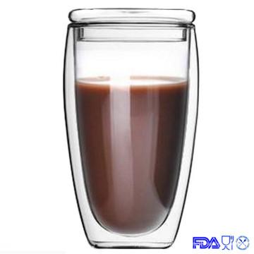 450ml caneca de parede dupla, copo de café