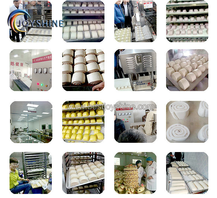 Automatic Square Steamed Bread Forming Machine