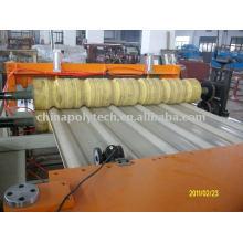 PVC plastic composite roof sheet extrusion machine