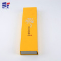 Book style paper gift box for packaging candle