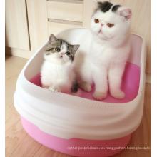 Caixa de lixo de gato auto-limpante automática