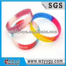 Multicolor Werbung Silikonband für Promo