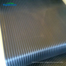 3mm 6mm broad wide ribbed rubber sheet