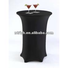 Encantadora toalha de mesa de bar de cocktails do spandex lycra, tampa de tabela