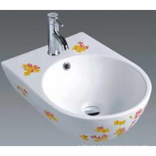 Ницца ванной керамический бассейн с цветами (1006)