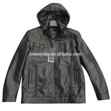 custom wholesale hooded mens fur jacket 2016