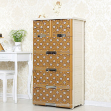 European Style Plastic Storage Drawer Cabinet (NA-5869)