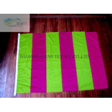 100% Polyester Outdoor Stripe Colored Flags