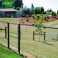PVC Coated Diamond Shape Sportsfield Chain Link Fence