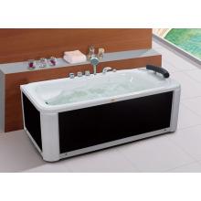 Kundengebundene Farben-Massage-freistehende Badewanne