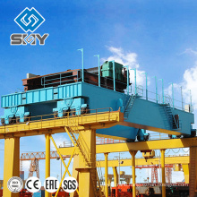 High Load 100 tons Electric Mobile Overhead Cranes For Warehouse