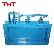 Válvula de compuerta de aire regulable constante de persiana automática