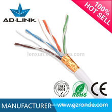 2015 Hot Sale STP cat5 24awg computer cable 4 pairs with cheap factory price