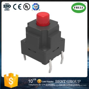 10*10*13mm Hot Sale Switch Waterproof Touch Switch (FBELE)