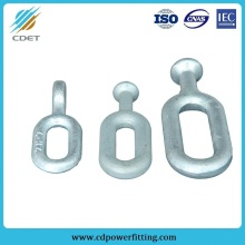 Galvanized Overhead-Line Fitting Insulator Ball Eye Link