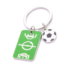 Souvenir Gifts Brazil Sport Football Keychain with Customer Logo (F1193)