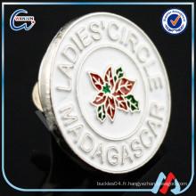 Insignes personnalisées de marques célèbres, badges émaillés