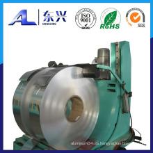 Tira de aluminio para el cable utilizado