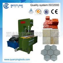 Residuos de azulejos de piedra reutilizar la máquina de sello