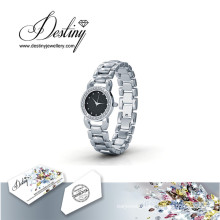 Destiny Jewellery Crystal From Swarovski Luxx Watch