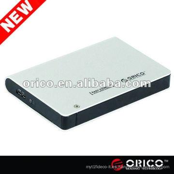 "ORICO 2598US3 Caja externa de 2,5 ""para SATA HDD, caja de aluminio, caja de disco duro USB3.0"
