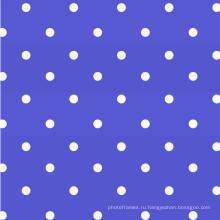 Dot Design Tablecloth With Non Woven Backing