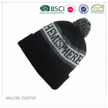 Adult Jacquard Cuff  Beanie Wholesale