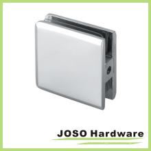 Support de douche brossé carré en verre à mur (BC301)