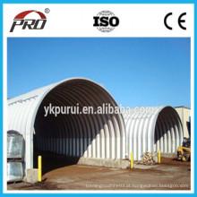 Screw Joint Arch Roof Roll Máquina formadora / máquina de construção multi-forma