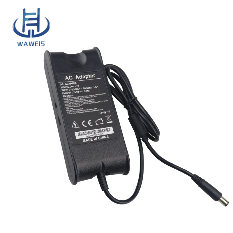 Laptop charger 19.5V 3.34A 65w for DELL