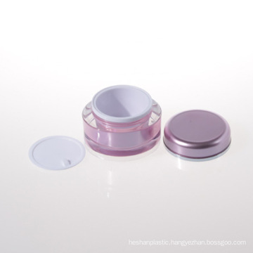 15g 30g 50g Acrylic Double Wall Jar Cosmetic Cream Jar