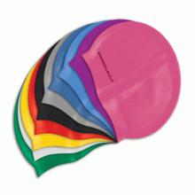 Chapeau de bain coloré en silicone écologique