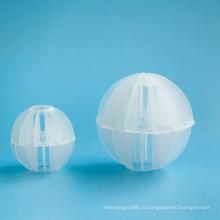 Vends polyèdre boule vide en plastique polyédrique balle creuse médias (emballage de la tour)