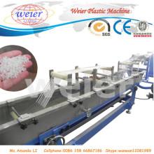 Ligne recyclée d'extrusion de granule / granule / grain d'animal familier d'ABS de PE de déchets PP