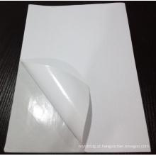 Venda quente da etiqueta de envio autoadesiva do papel do woodfree 8,5 x 11