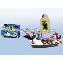 Building Blocks Pirate Toy