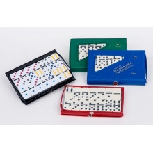 Double Six Ivory domino  in PVC box