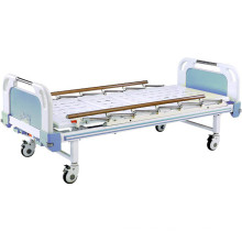Movable Two Function Full-Fowler Hospital Bed with Flat-Tube Board