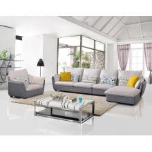 Beliebte 3-Sitzer Stoff Ecksofa Set Wohnzimmer Möbel
