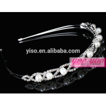 crystal wholesale crystal and pearl fashion hair jewelry
