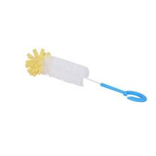 Transporte rápido a escova de limpeza longa da garrafa longa do silicone da qualidade quente