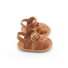 Skid Proof Buckle Sandal Sandal Kulit Tulen