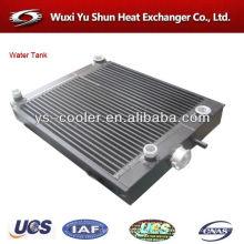 Aluminium-Luft-Wasser-Wärmetauscher